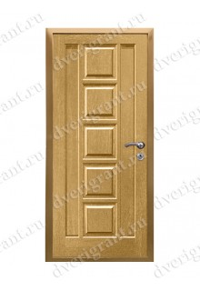 Металлическая дверь - модель - 10-061