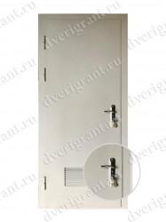 Входная металлическая дверь - 10-064