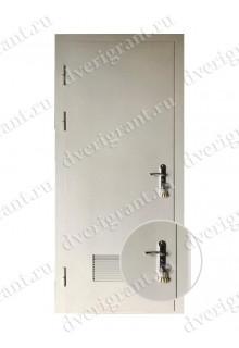 Техническая металлическая дверь 10-064
