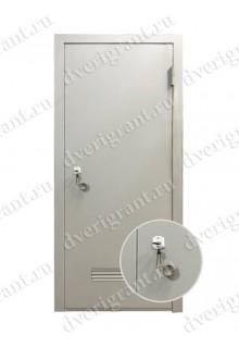 Техническая металлическая дверь 10-065