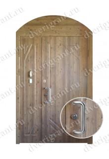 Металлическая нестандартная дверь - модель 14-001