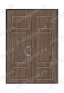 Двустворчатая металлическая дверь - 14-002