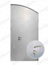 Двустворчатая металлическая дверь 14-003