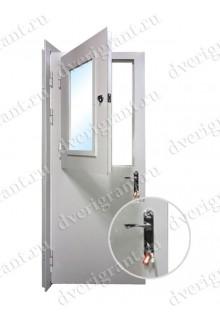 Металлическая нестандартная дверь - модель - 14-005