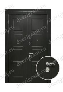 Двустворчатая металлическая дверь 14-009