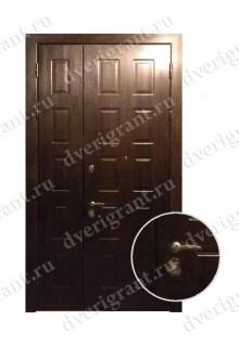 Двустворчатая металлическая дверь 14-010