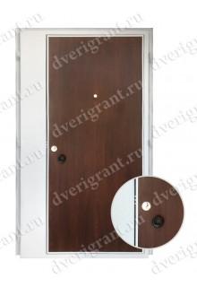 Металлическая нестандартная дверь - модель - 14-013