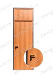 Металлическая нестандартная дверь - модель - 14-015