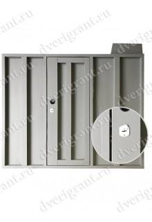 Металлическая нестандартная дверь - модель - 14-016