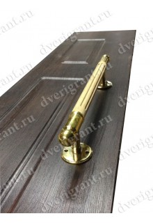 Металлическая нестандартная дверь - модель - 14-017