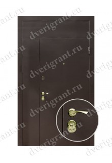 Металлическая нестандартная дверь - 14-020