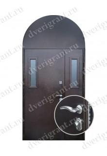 Двустворчатая металлическая дверь - 14-024