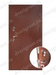 Внутренняя дверь в квартиру с тепло-шумоизоляцией - модель 17-001