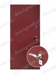 Внутренняя дверь в квартиру с тепло-шумоизоляцией - модель 17-004
