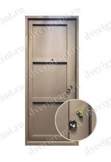 Металлическая дверь - модель - 17-007