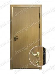 Внутренняя дверь в квартиру с тепло-шумоизоляцией - модель 17-009