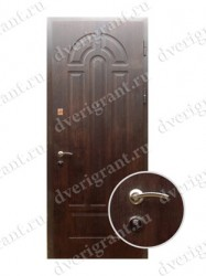 Внутренняя дверь в квартиру с тепло-шумоизоляцией - модель 17-012