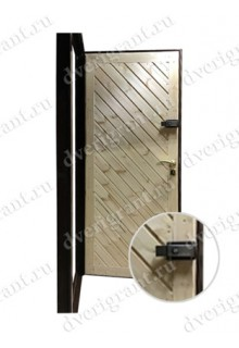 Металлическая входная дверь в квартиру - 17-016