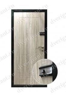 Металлическая входная дверь в квартиру с тепло-шумоизоляцией - модель 17-018