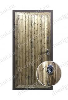 Металлическая входная дверь в квартиру с тепло-шумоизоляцией - модель 17-019