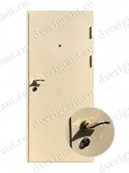 Внутренняя дверь в квартиру с тепло-шумоизоляцией - модель 17-021