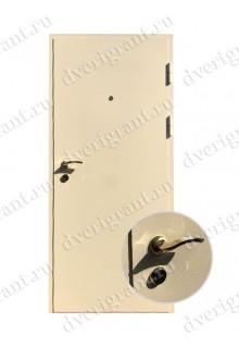Металлическая входная дверь в квартиру с тепло-шумоизоляцией - модель 17-021