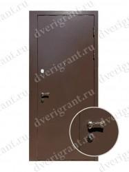 Внутренняя дверь в квартиру с тепло-шумоизоляцией - модель 17-022