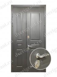 Нестандартная металлическая дверь для старого фонда - 17-028