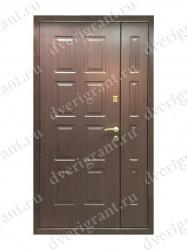 Нестандартная металлическая дверь для старого фонда - 17-029