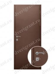 Металлическая дверь - 18-012