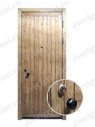 Металлическая дверь для дачи - 15-05