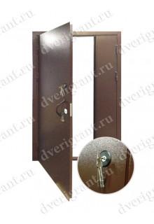 Техническая металлическая дверь 20-012
