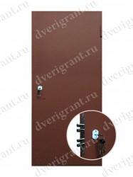 Строительная дверь - модель 23-011
