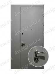 Нестандартная металлическая дверь для старого фонда - 24-93