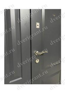 Нестандартная металлическая дверь в квартиру для старого фонда - 24-98