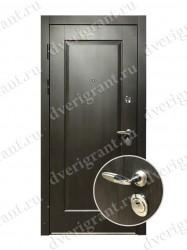 Нестандартная металлическая дверь для старого фонда - 25-01