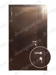 Нестандартная металлическая дверь для старого фонда - 25-02