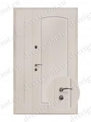 Нестандартная металлическая дверь для старого фонда - 25-03