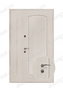 Нестандартная металлическая дверь в квартиру для старого фонда - 25-03