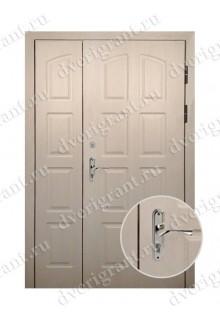 Нестандартная металлическая дверь в квартиру для старого фонда - 25-05