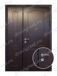 Нестандартная металлическая дверь для старого фонда - 25-08