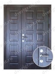 Нестандартная металлическая дверь для старого фонда - 25-09