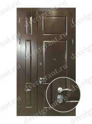 Нестандартная металлическая дверь для старого фонда - 25-11