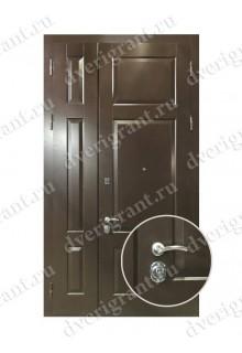 Нестандартная металлическая дверь в квартиру для старого фонда - 25-11