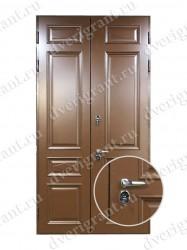 Нестандартная металлическая дверь для старого фонда - 25-12