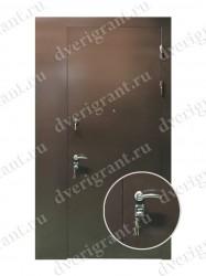Нестандартная металлическая дверь для старого фонда - 25-13