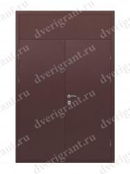 Нестандартная металлическая дверь для старого фонда - 25-14