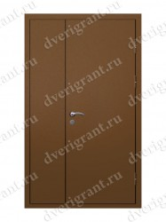Нестандартная металлическая дверь для старого фонда - 25-15