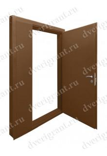 Нестандартная металлическая дверь в квартиру для старого фонда - 25-15