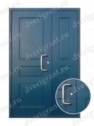 Нестандартная металлическая дверь для старого фонда - 25-17